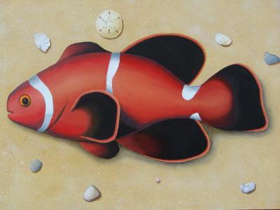 Redfish on the Beach   36 x 48