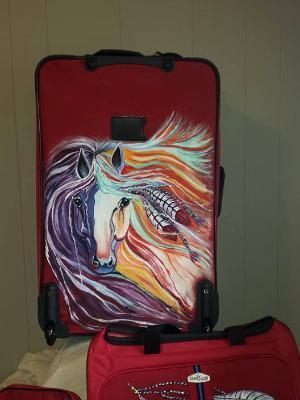 Rainbow horse 3pc set