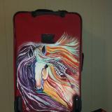 Suitcase art/personalized luggage