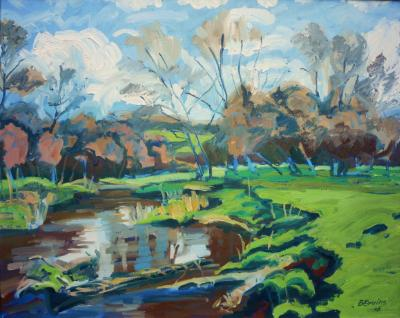 The river Otter in autumn (near Ottery St Mary)