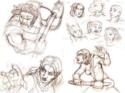 Elder Scrolls Characters