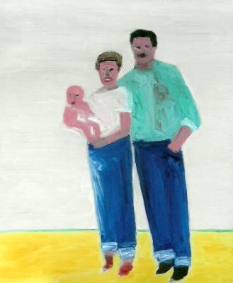 """""""Self Portrait with Parents"""""""