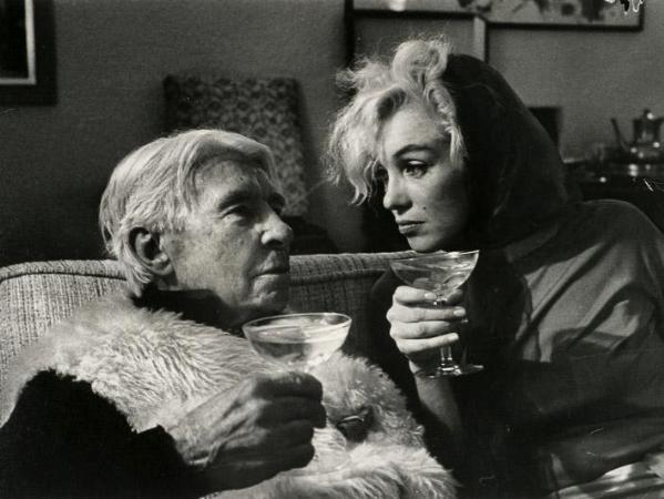 Arnold Newman Marilyn Monroe