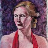 Signe, Pastel Portrait