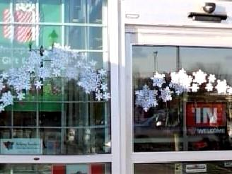 Snowflake & Deer wreath