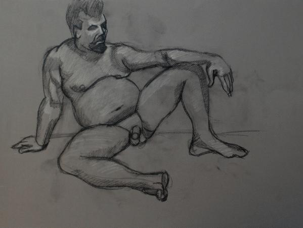 Robert, Seated Frontal