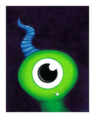 Monster Face #2