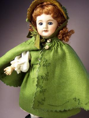 St Patrick's Day Pélerine 1910/11