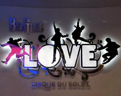 Video promo for The Beatles Love, Cirque Du Soleil