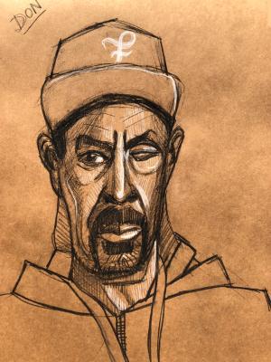 Don, Frontal Portrait