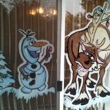 Reindeer & snowman Christmas