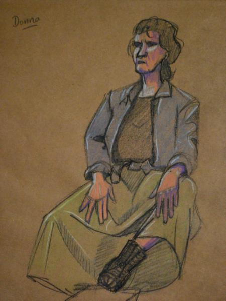 Donna, Seated Pioneer