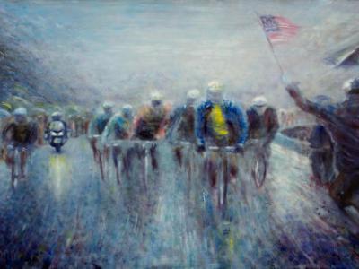 Racing in the Rain - SOLD