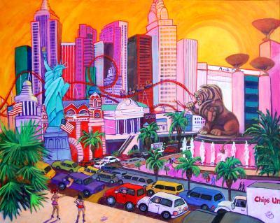 Sin City Sunset