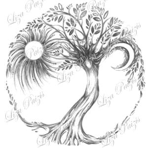 Tree of Life original drawing