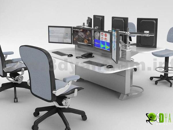 Office furniture  design of 3d Product,Los Angeles -California