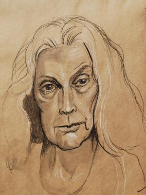 Sheley, Frontal Portrait