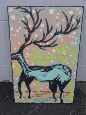 Loose deer