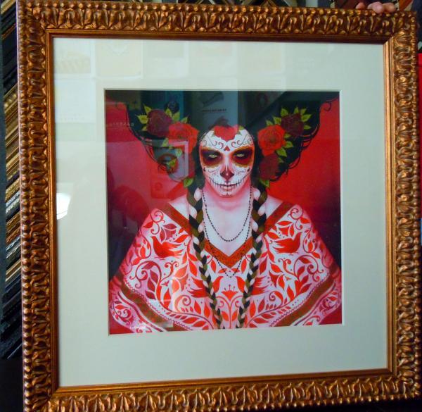 Dia De Los Muertos Print Kuhl Frames Art