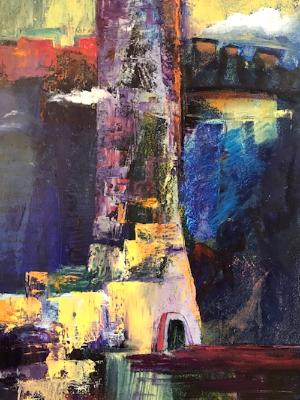 "Strong Tower 20""x16"""