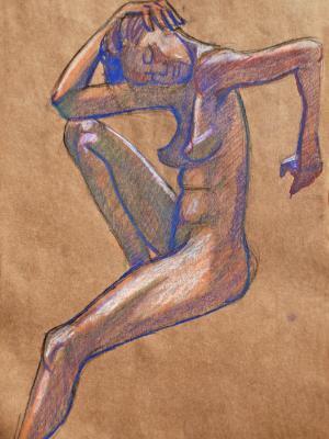 Titania Nude, Purple Shadows