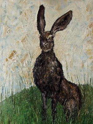 Hare Totem (sold)