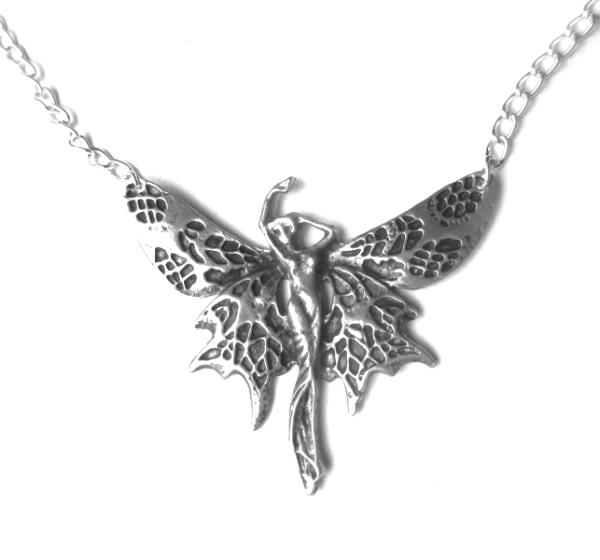 Art Nouveau Fairy Necklace Fairy statement choker