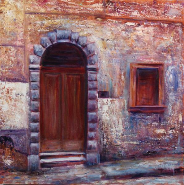 Door in Tuscany 4 - SOLD