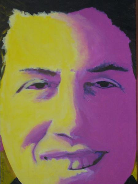 Deb in Yellow & Purple