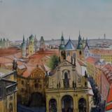 Everlasting Prague, 38cm x 28cm, 2020