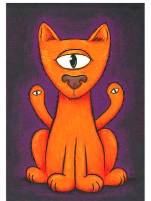 3-Eyed Cat