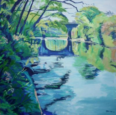The river Torridge at Orford Bridge, Great Torrington