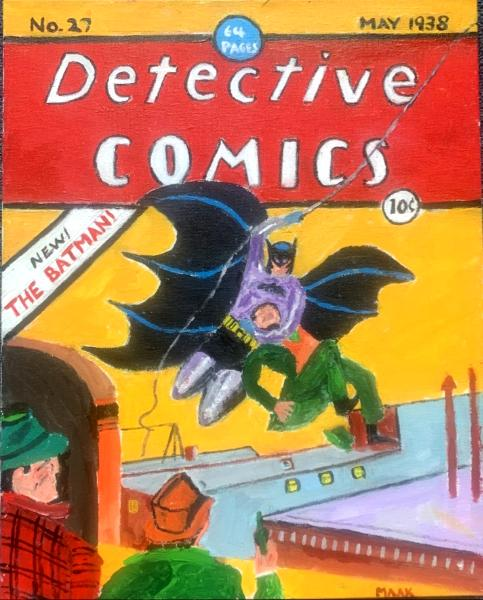 First Batman Comic Cover 1939