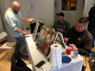 fundraiser painting class