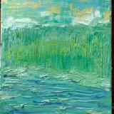 Study in blue and green
