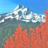 Red Maple at Mt Hood