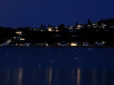Utsalady Beach at Night