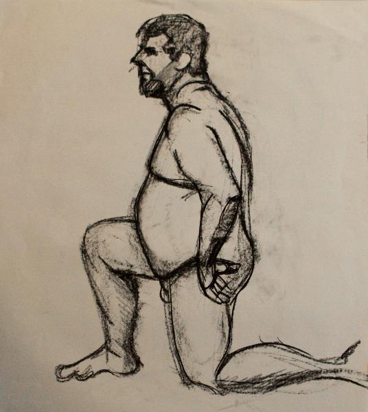 Robert, Kneeling Nude