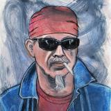 Christopher, Red Bandana