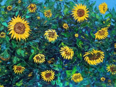 Sunflowers €650