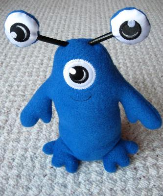 Plush Barry Blue 1
