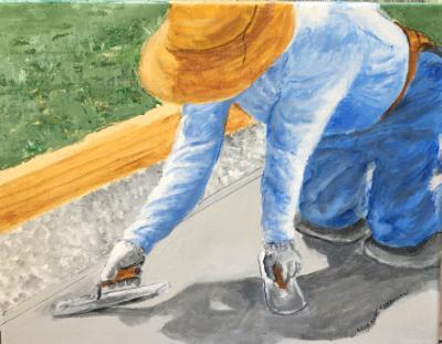 Essential Worker II: Concrete Worker