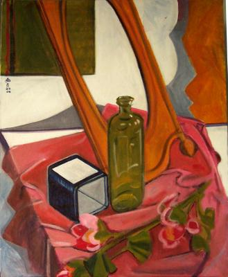 Still Life with Long Frame