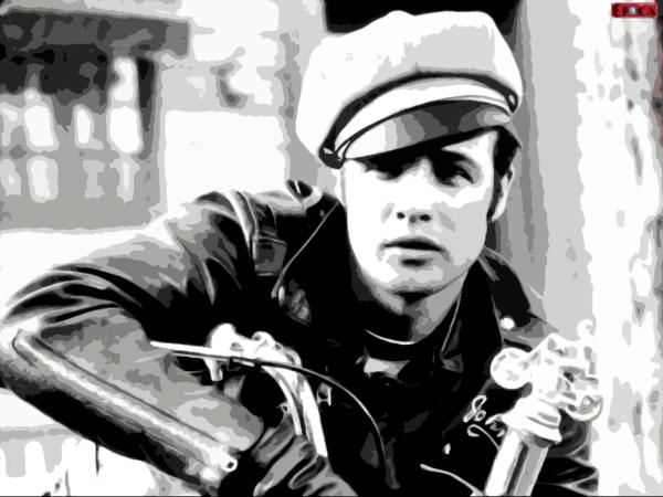 Marlon Brando The Wild One - Dave Copping 5c4f56ba1d5