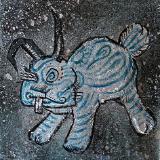 CONEJO LOCO (azul)