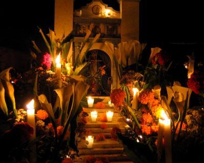 Oaxaca Cemetery, Day of the Dead