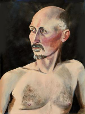 Portrait of David B.