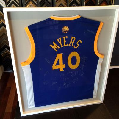 Warriors  signed Jersey for GM Myers
