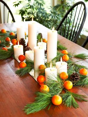 candle arrangement-phogo credit: Better Homes and Gardens