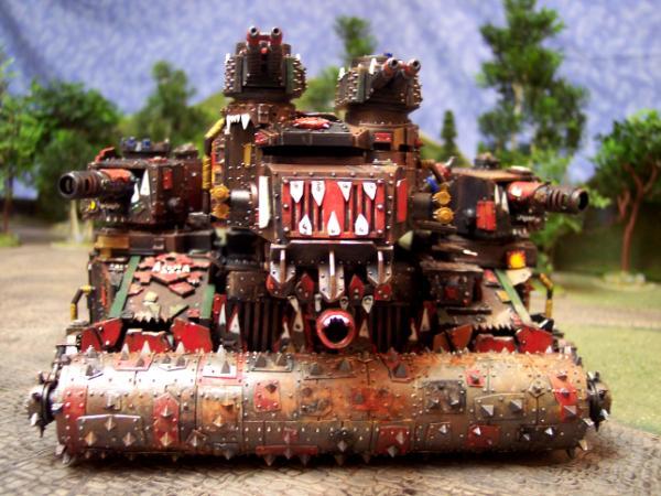Ork Battle Fortress Front